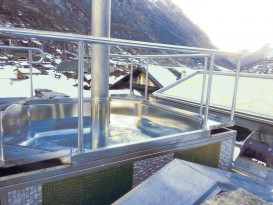 Tailor-made stainless steel whirlpool