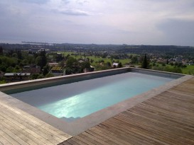 Swimming pool with perfevt view